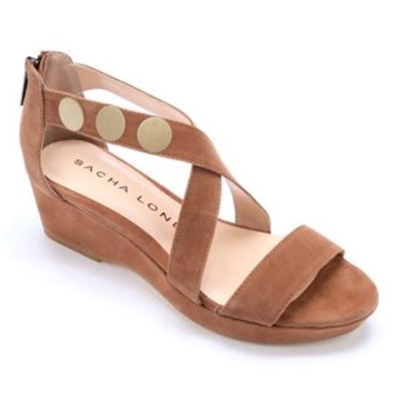 1e4845b6ae01 Sacha London Gina Suede Sandal Size 8